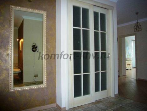 Итальянская мебель, обои- Двери